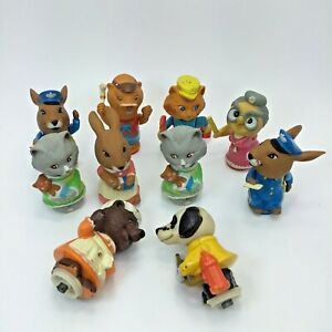 Richard Scarry Busytown Figures 1975
