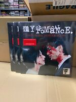 My Chemical Romance LP Life On The Murder Scene Clear Red Splatter RSD 2020
