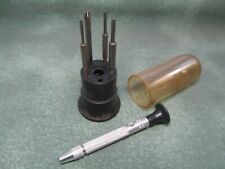 Vintage Moody Precision Screwdriver Kit - Hex & Phillips