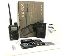 Yaesu VX-3R Dual Band Radio Transceiver with wide band coverage