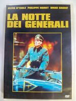 dvd LA NOTTE DEI GENERALI the night of the generals guerra peter o toole DVD