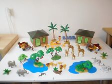 Playmobil safari station africa lodge jeep  like the elements in 3433 3770 4305