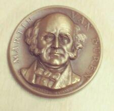 Vintage Martin Van Buren Presidential Bronze Medal Medalic Art (#BZ-79)