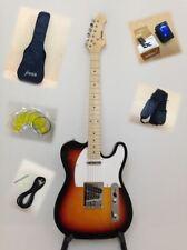 Haze Solid Body Electric Guitar,S-S Pickups,Sunburst+Free Bag,Strap |SEG-287BS|