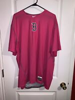 Rare Boston Red Sox Player Issued Mother's Day Nike Undershirt Dri Fit Size 3XL