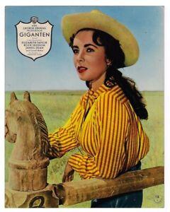 Giganten Elizabeth Taylor Rock Hudson James Dean Aushangfoto #3