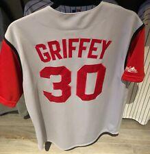 Ken Griffey Jr. - Cincinnati Reds #30 Jersey HOF