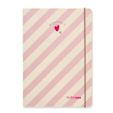 2020-21 Diary from Matilda MOO - A5 Weekly Mid Year Diary – Pink