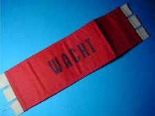 WACHT - armband Nederlandse leger / Dutch Army Guard
