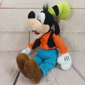 """Official Disney Store Goofy Soft Plush Toy 14"""" Tall"""