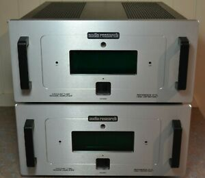 Audio Research Reference 210 Vacuum Tube Mono Power Amplifiers (pair).