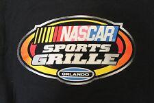 NASCAR SPORTS GRILLE Logo Orlando Black T-Shirt Sz.L