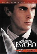 American Psycho ~ Collector's Edition Uncut Version Dvd ~ Free Shipping Usa