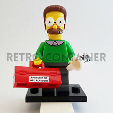 LEGO Minifigures - 1x sim016 - Ned Flanders - The Simpsons Omino Minifig
