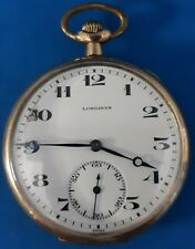 Longines 17 Jewels Size 12  Pocket Watch.FREE 3 DAY PRIORITY SHIPPING.