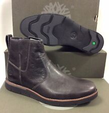Timberland Preston Hills Zipped Chelsea Leather Mens Boots Shoes, UK 7.5 EU 41.5