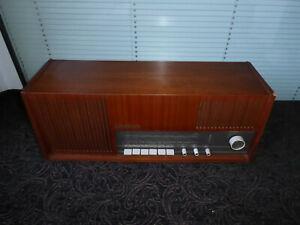 Loewe Moderna  Röhrenradio Radio antik alt tube radio