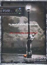 Kenwood Car Hi-Fi 1999 Magazine Advert #1944