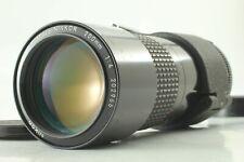 [Exc+4] Nikon AI-S Micro Nikkor 200mm f4 AIS MF Macro Lens from Japan#421