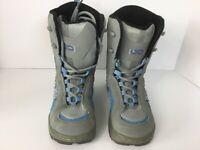 LTD Juniors Gray Snowboard Boots Size 3