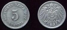 5 Reichspfennig - 1912 F - Deutsches Reich - Kaiserreich    (004)