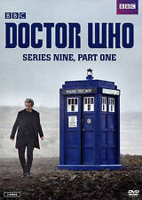 Doctor Who - Series 9, Part 1 (DVD, 2015, 2-Disc Set) w/ Slipcase NEW!