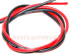 2 x 3' 10AWG 10Gauge 10GA silicone rubber wire 100Amp