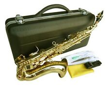 NEW BRASS CURVED SOPRANO SAXOPHONE SAX 5-YEARS WARRANTY.