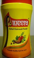 Meera 120g XXL  Herbal Hair wash Powder Shikakai Hibiscus Tulsi Reetha USA SELLR