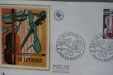 ENVELOPPE PREMIER JOUR SOIE 1979 LA LUTHERIE