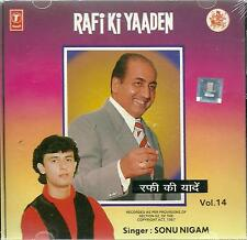 RAFI KI YAADEN - SINGER - SONU NIGAM - VOL 14 - NEW CD SONGS - FREE UK POST