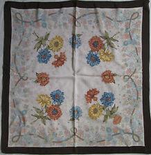 -Superbe Foulard  GUCCI  100% soie  TBEG  vintage scarf 70's