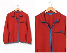 80s Vintage Mens PATAGONIA Synchilla Fleece Jacket Red Size L