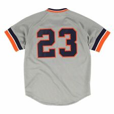 9e3c546aa MLB Mitchell & Ness Full Button Batting Practice Throwback Jersey  Collection Men Detroit Tigers Kirk Gibson