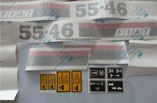 Serie Decalcomania-Adesivi Per Trattore Fiat 55-46...