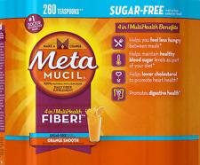 Metamucil MultiHealth Fiber, Sugar Free, 260 Doses New