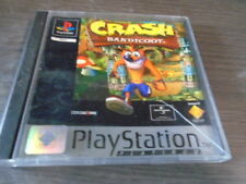 POUR ps1 Crash Bandicoot 1 Platinum  complet