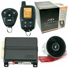 Avital 3305L 2-Way Lcd Keyless Entry Vehicle Security System + 2 Remote Control