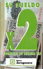 CALENDARIO FOURNIER AÑO 1993 BANCO ZARAGOZANO