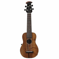 Ovation Americana Collection Soprano Ukulele Acoustic Electric Exotic Koa