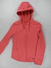 Under Armour Full Zip Midweight Hoodie Jacket (Womens Medium) Pink