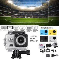 Sport Camera Action DVR Camcorder Wifi 4K 2 Inch 1080P Ultra HD Waterproof