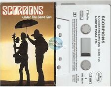 SCORPIONS cassette K7 tape UNDER THE SAME SUN france french 2 tracks card sleeve