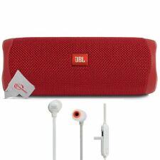 JBL FLIP 5 Alto-Falante Portátil Bluetooth Vermelho Com sem fio fones De Ouvido In-ear