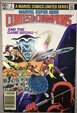 Marvel Super Hero Contest Of Champions #2. 1982. Marvel Newsstand Comic