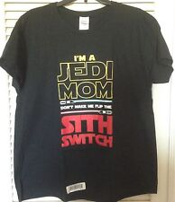 LIMITED EDITION Star Wars Jedi Mom XL Ladies T-shirt