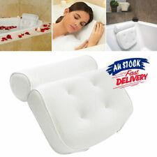 3D Spa Mesh Bath Pillow Neck Back Support Bathtub Tub Cushions Suction Cups AU
