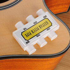 Portable Acoustic Guitar String Six - Hole Tuner Pitch Pipe Tones Tuning Tuner*