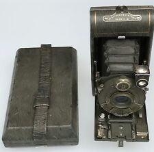 vest pocket kodak Series III Gray Green Camera Nice Pinstripes