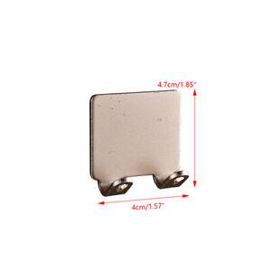 Punch-free Coat Hook Razor Rack Space Aluminum Kitchen Bathroom Hook Wall